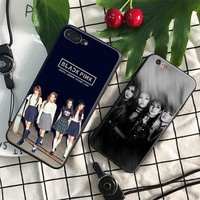 BLACKPINK Kpop Girl group Cover Shell For Apple iPhone 5 5S SE 6 6S 6Plus 6sPlus 7 7Plus 8 8Plus X Soft Silicone Tpu Phone Case