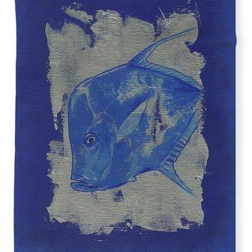 Blue Fish - Blanket