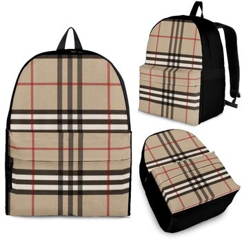 Backpack Inspired by Burberry