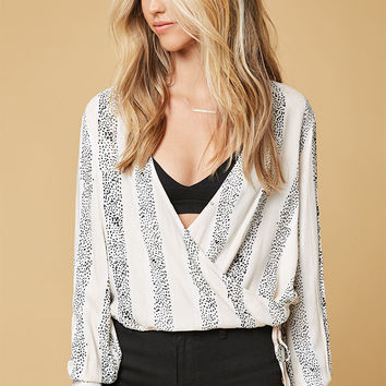 MinkPink Sundowner Wrap Blouse at PacSun.com