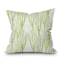 Karen Harris Citrus 4 What Forest Throw Pillow | Find it at the Foundary