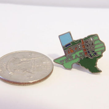 Texas State Lapel Pin Geography Map Enamel Unisex Jewelry Fashion Accessories