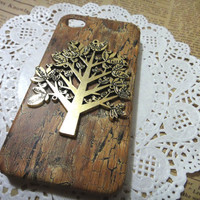 iPhone 5 Giving TREE wooden pattern iPhone Case cover fits for  iPhone 5 Case, iPhone 5 Hard Case cover