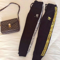 adidas Originals Fashion Running Leggings Sweatpants