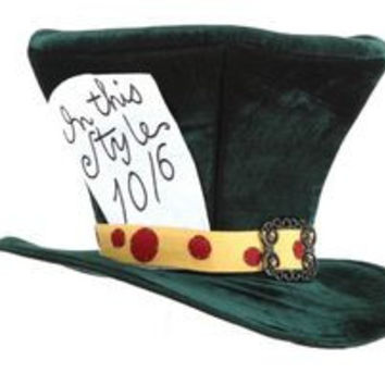 Hat Alice In Wond Madhatter Gr Ela5402