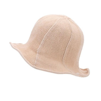 fashion sun hat female  sun hats for women large brimmed Knit sun hat folding beach Caps sombreros mujer verano #63 SM6