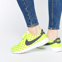 Nike Volt Yellow Polka Dot Roshe LD1000 Trainers