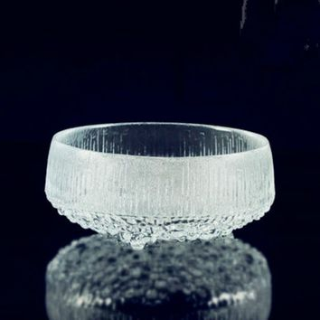 Small and Exquisite Finland Style Frozen Glass Bowl