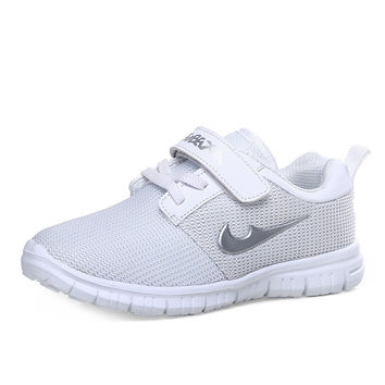 Hot Sale Hot Deal Casual Comfort On Sale Children Velcro Anti-skid Permeable Shoes Stylish Korean Sneakers [4919282628]