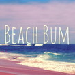 Beach Bum Stretched Canvas by Josrick
