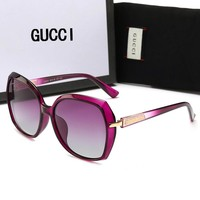 GUCCI Fashion Women Men Casual Shades Eyeglasses Glasses Sunglasses Purple