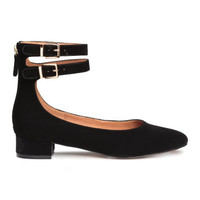H&M Ballet Flats with Ankle Straps $29.99
