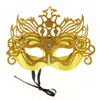 Gorgeous Gold Masquerade Mask