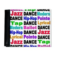 Dance Styles (#2) Wallet