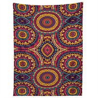 Arcturus Coral Motif Tapestry
