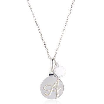 Anzie A Disc Pendant Necklace at MYHABIT