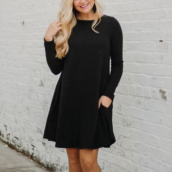 PIKO Easy Goes It Dress/ Tunic ~ Black