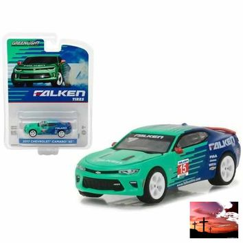 2017 Chevrolet Camaro SS Falken Tire Hobby Exclusive 1/64 Diecast Model Car by Greenlight
