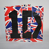 One Direction Duct Tape Wallet
