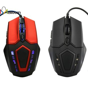 3200 DPI 6D Buttons LED Wired Gaming Mouse
