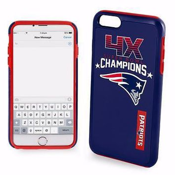 New England Patriots NFL Super Bowl Commerative iPhone 6/6s Phone Cover Case
