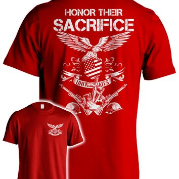 Honor their Sacrifice - We Wear RED on Fridays 'till they ALL Come Home!