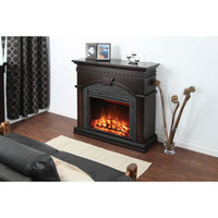 Muskoka® Finley Electric Fireplace Mantel with Corner Option