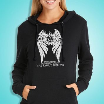 Supernatural Winchester Brothers Hunters Women'S Hoodie