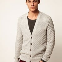 ASOS Cable Cardigan at asos.com