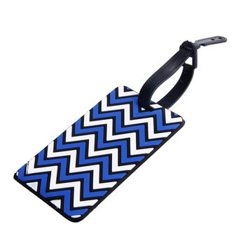 Flama Striped Pvc Travel Accessories For Luggage Tags