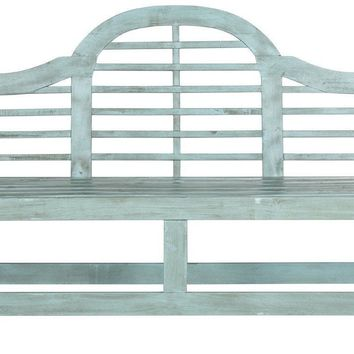 Khara Bench Beach House Blue