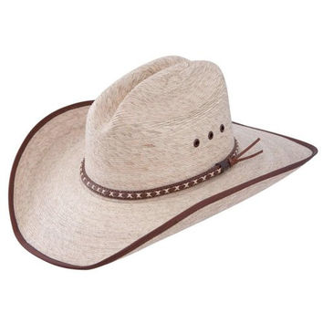 Resistol Jason Aldean Hicktown - Mexican Palm Straw Cowboy Hat (X-Large)