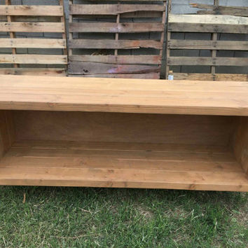 Fruitwood record holder,  vynil storage, entertainment center, tv stand, media stand