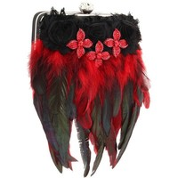 Inspired by Claire Jane Gothic Feather Purse