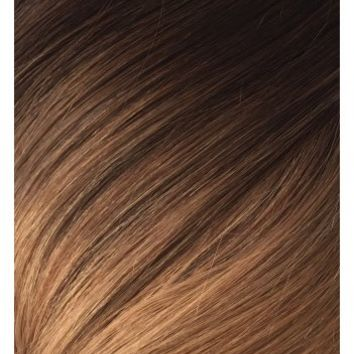 "MOCHA TOFFEE OMBRE - DELUXE 20"" CLIP IN HUMAN HAIR EXTENSIONS 165G **PREORDER**"