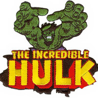 The Hulk Iron-On Patch Incredible Logo