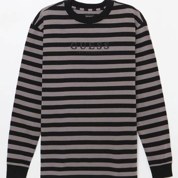 Guess David Striped Long Sleeve T-Shirt at PacSun.com