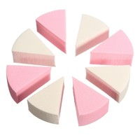 8Pcs Facial Cleaning Makeup Soft Sponge Foundation Powder Wet And Dry Dual-use Puff