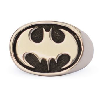 Bronze Batman Ring - THE BLACK KNIGHT Batman Jewelry