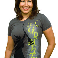 Wicked the Broadway Musical - Defy Gravity Ladies T-Shirt