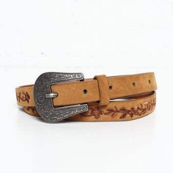 Daybreak Embroidered Belt