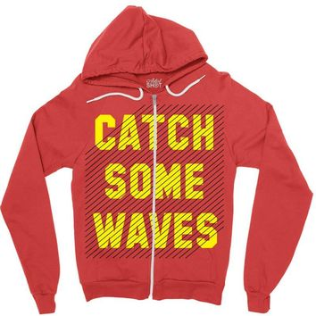 Catch Some Waves Zipper Hoodie