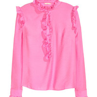H&M Ruffled Blouse $49.99