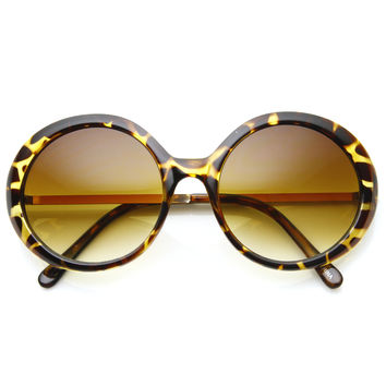 Oversize Womens Trendy Designer Fashion Sunglasses 8925