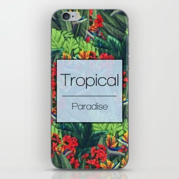 Tropics Paradise iPhone & iPod Skin by Ben Geiger