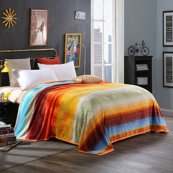 2016,  blankets, lightsome, soft and close-fitting,  exquisite,  can use as a quilt, winter can be used as a sheet