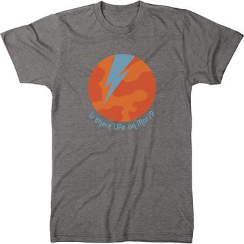 Is There Life On Mars Mens Modern Fit Tri-blend T-shirt