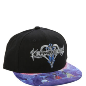 Disney Kingdom Hearts Snapback Ball Cap