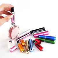Amazing Portable Mini Aluminum Refill Perfume/Makeup Remover/Aftershave Travel Atomizer