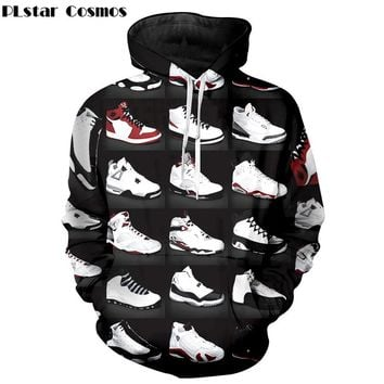 Jordan 23 Classic Shoes 3D Print Unisex Streetwear New Fashion Hoodies Men Women Sweatshirts